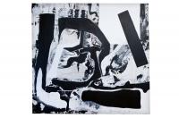 Acrylic and spraypaint on canvas. (155x170cm) Photo by Sabrina Karaktsanis