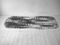 Paint on wood. (118x252cm). 2011