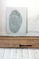 Ink on Wood. (84x59cm) 2009.